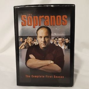 THE SOPRANOS Complete Season 1 - 5 VHS Boxed Set